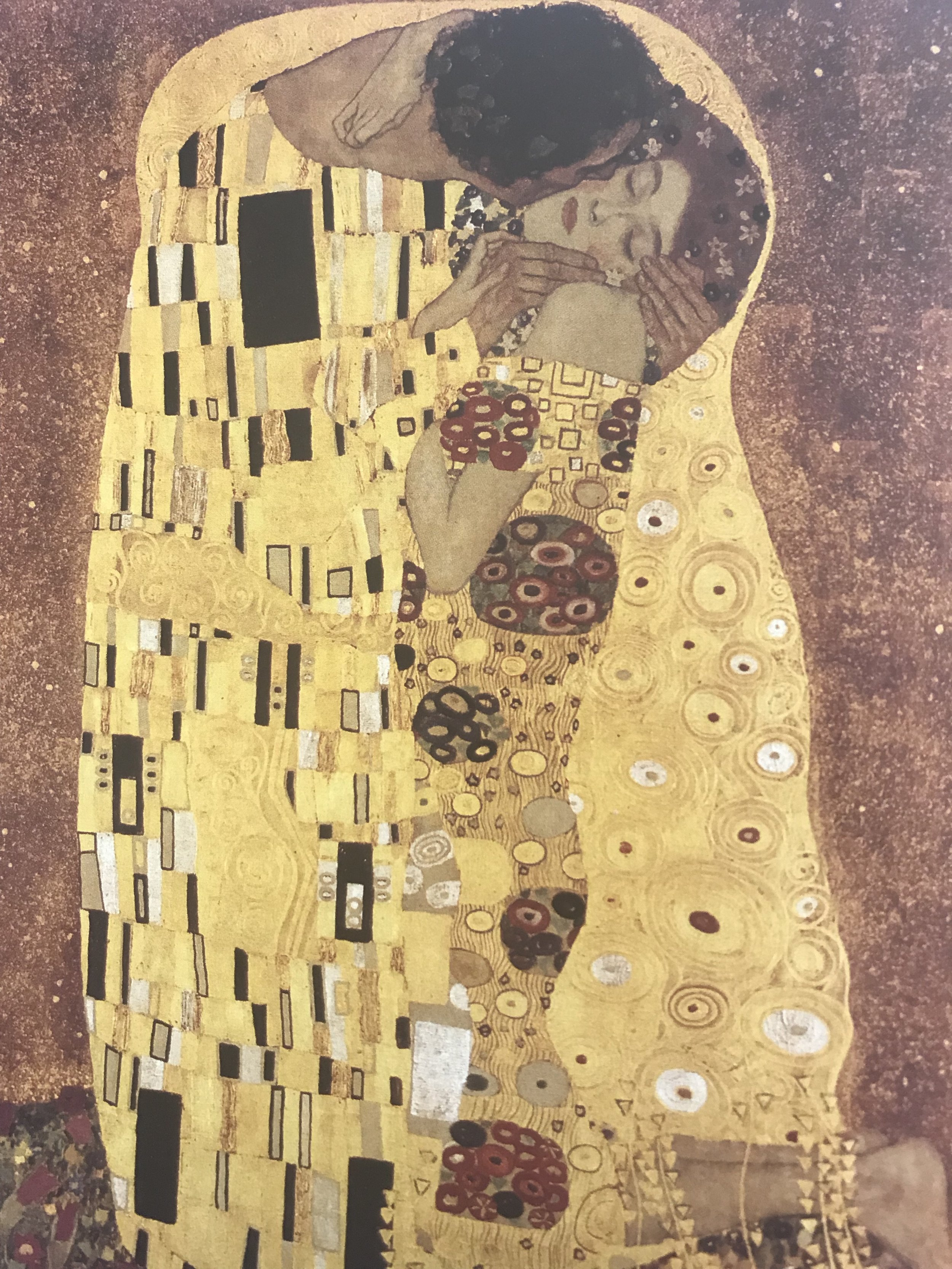 "Gustav Klimt's painting ""The Kiss"", from the book ""30,000 Years in Art"" (Phaidon, 2007)."