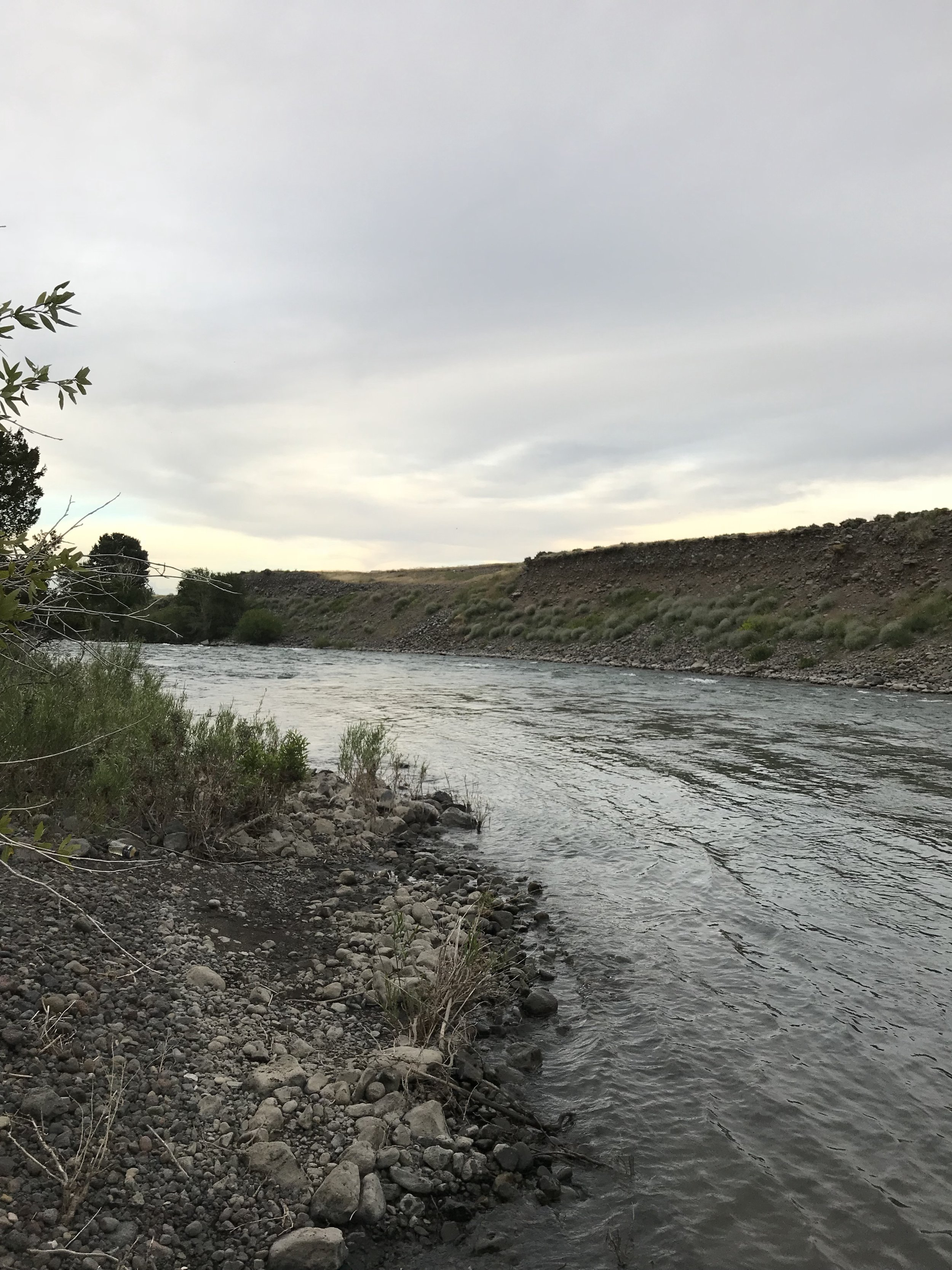 North fork, Shoshone River, Wyoming, Tuesday evening, July 17, 2018.