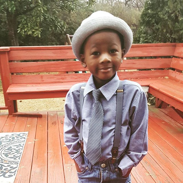 #tietuesdays #raisingapharoah # youngprince #dadwhowillibe #thepowerofu #thefuture #futureque