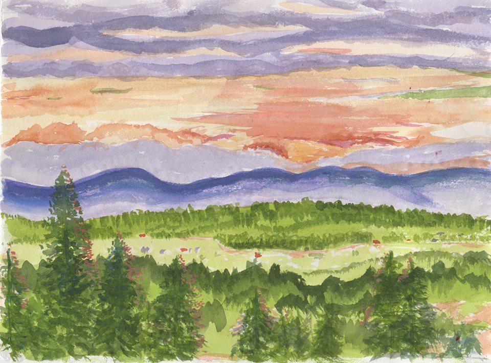 Peter's Vermont Sunset