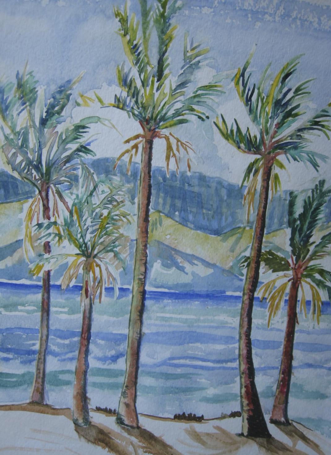 Big Island Palms