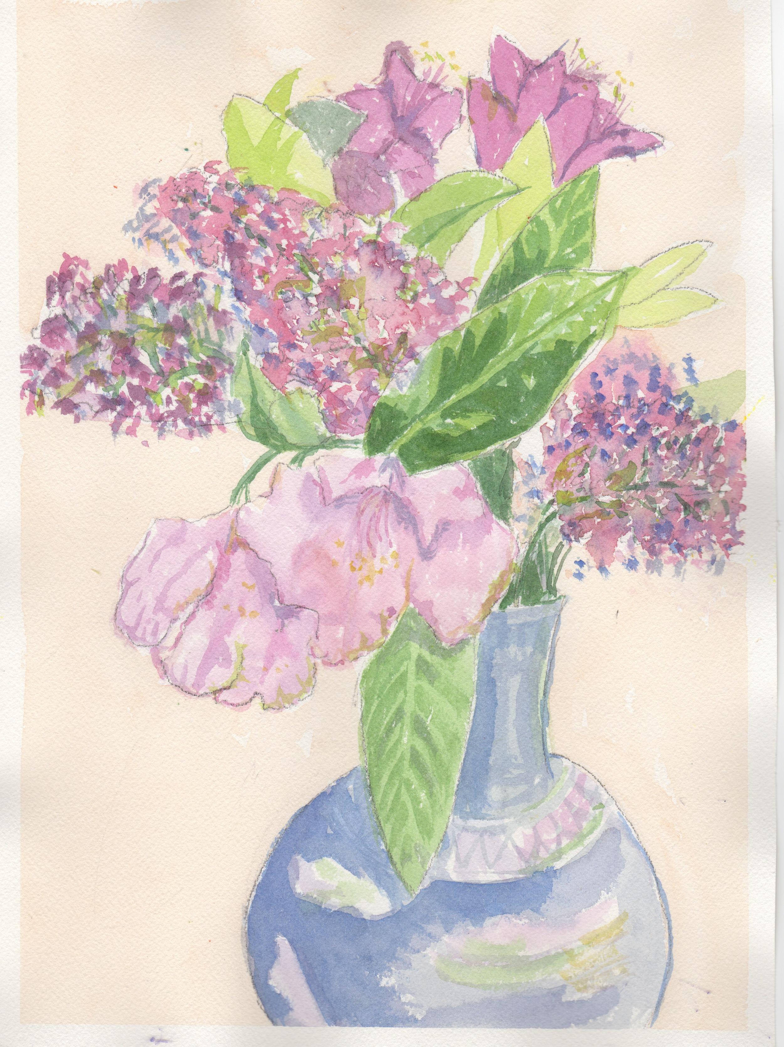 A girl's bouquet