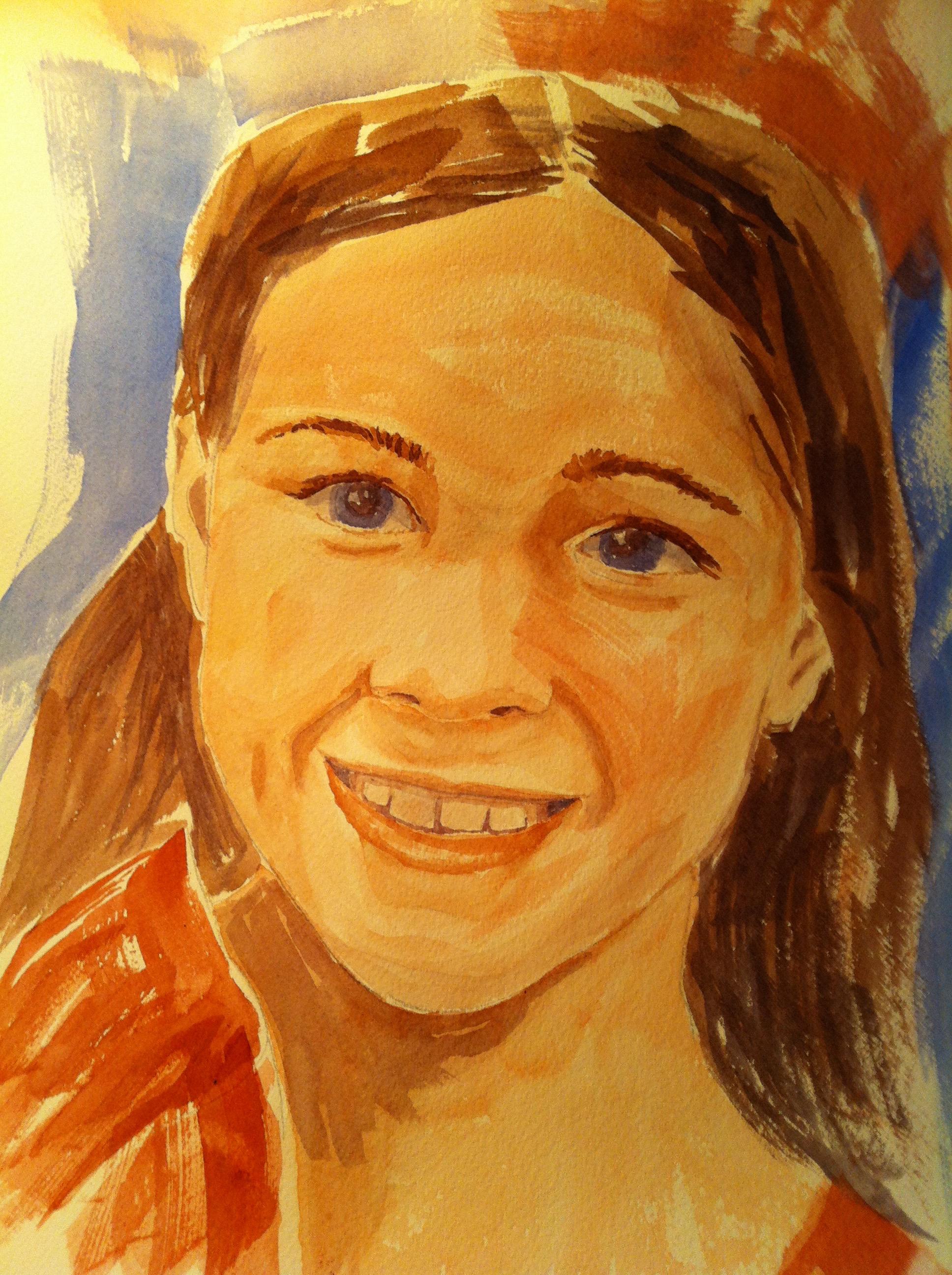 Dayle's Granddaughter's Portrait.jpg