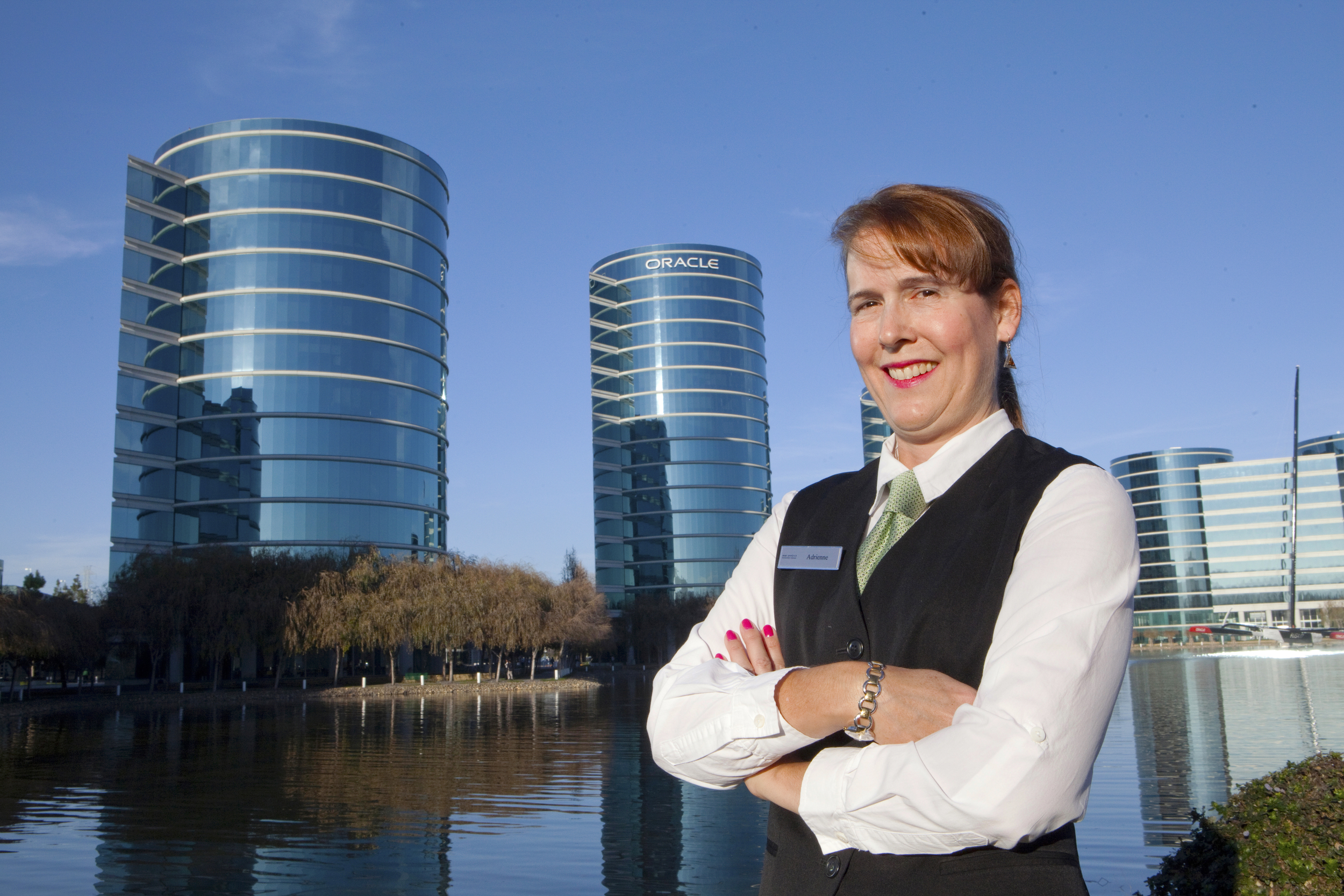 Adrienne who works for Bon Appetite at Oracle is part of the 80% of people placed by Jobs Plus who have kept their jobs for at least one year.