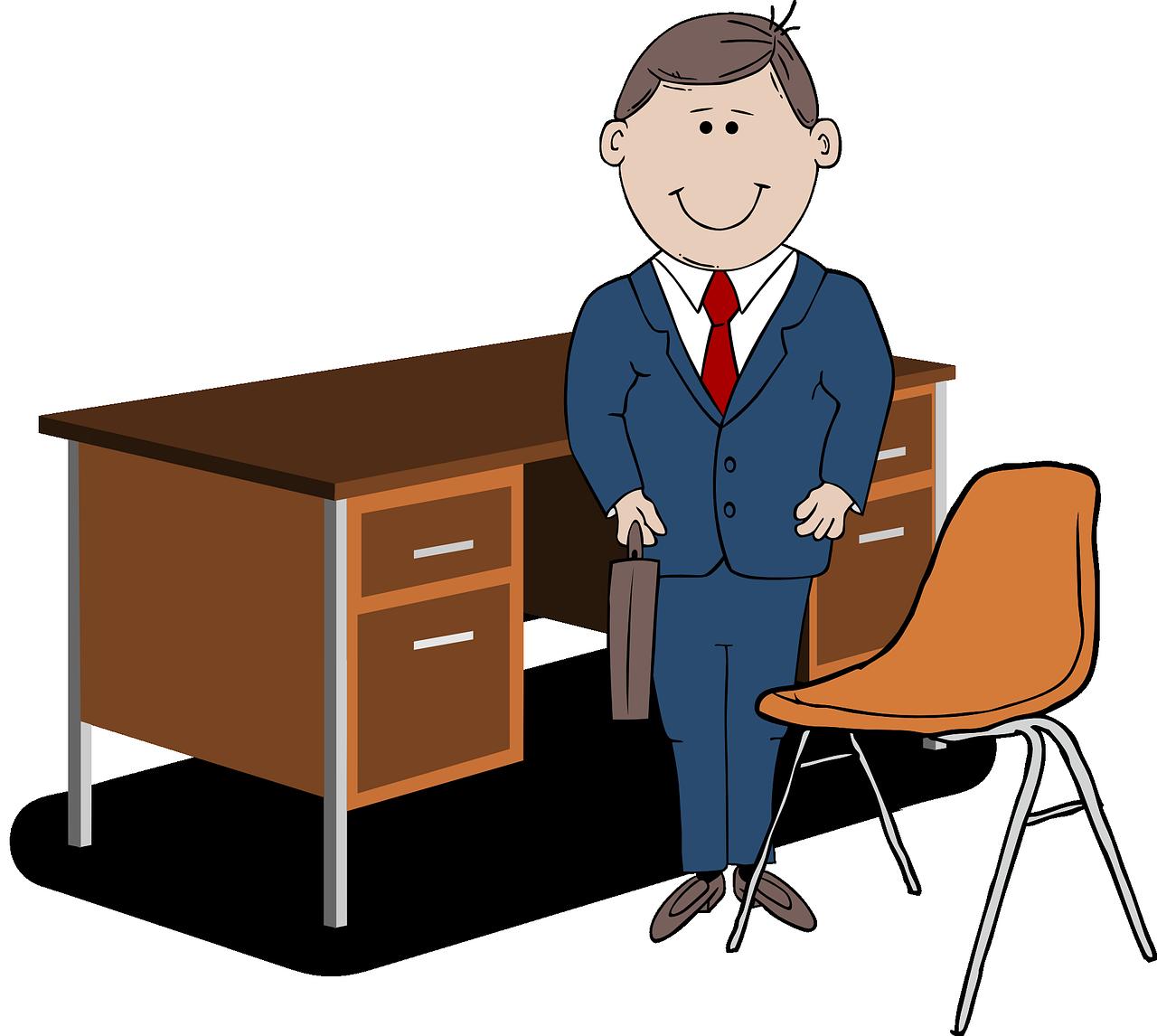 healthy office worker