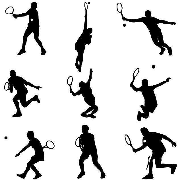 different tennis strokes