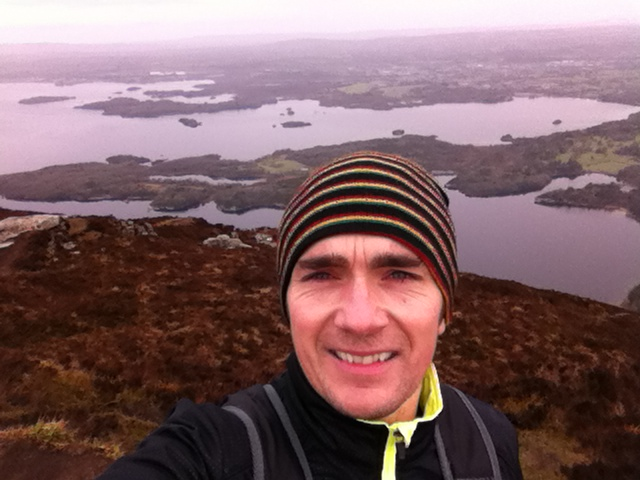 View from the top of Torc Mountain