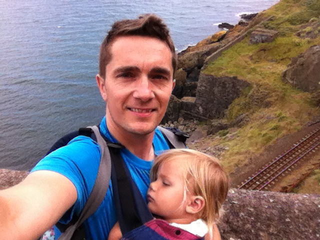 cliff walk from Greystones to Bray, county Wicklow