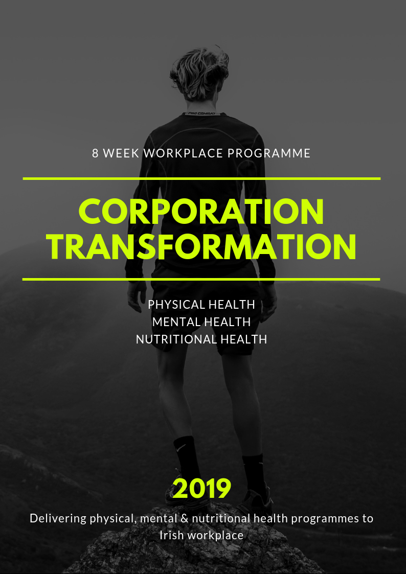 Corporation Transformation 2019 Dublin