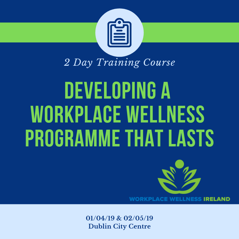 2 day training workplace wellness ireland