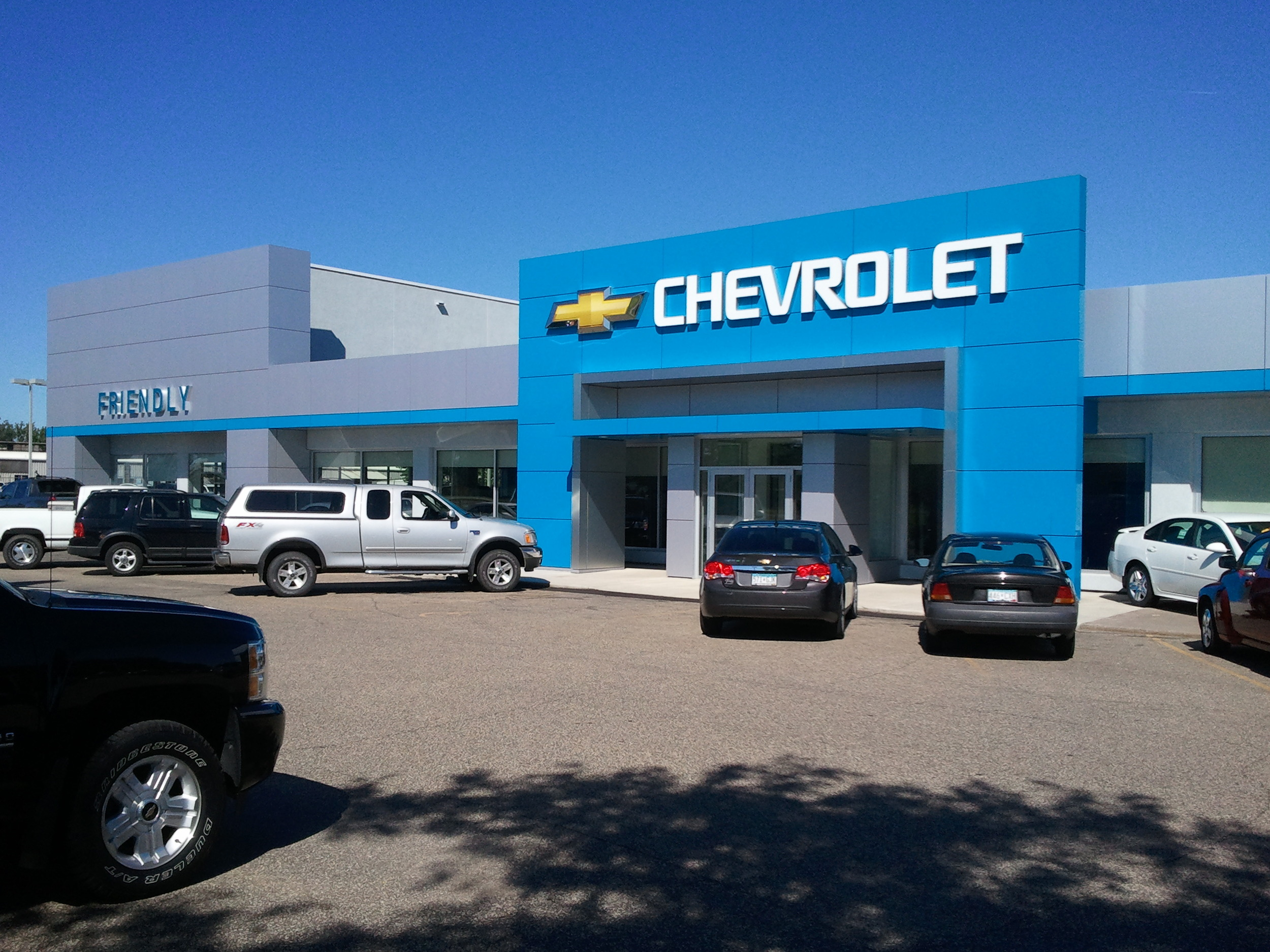 Friendly Chevrolet Ebe Fridley Mn Darwin Lindahl Architects P A