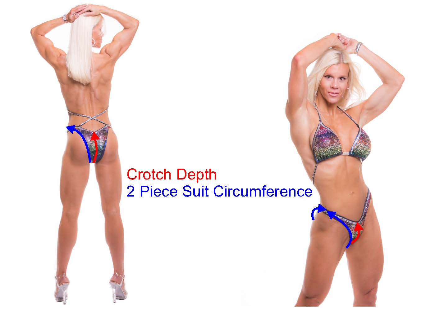 How to measure crotch depth. Perfect Fit Gear