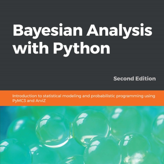 "Bayesian Analysis with Python - By Osvaldo MartinI had been wanting to read this book for a long time as Osvaldo had been working on at the same time I was writing my book. This is a really great introduction to using PyMC3, a probabilistic programming frame work for Python, to perform Bayesian Data Analysis. Probabilistic programming is an essential part of advanced Bayesian analysis. This is another great next step to go after ""Bayesian Statistics the Fun Way"""