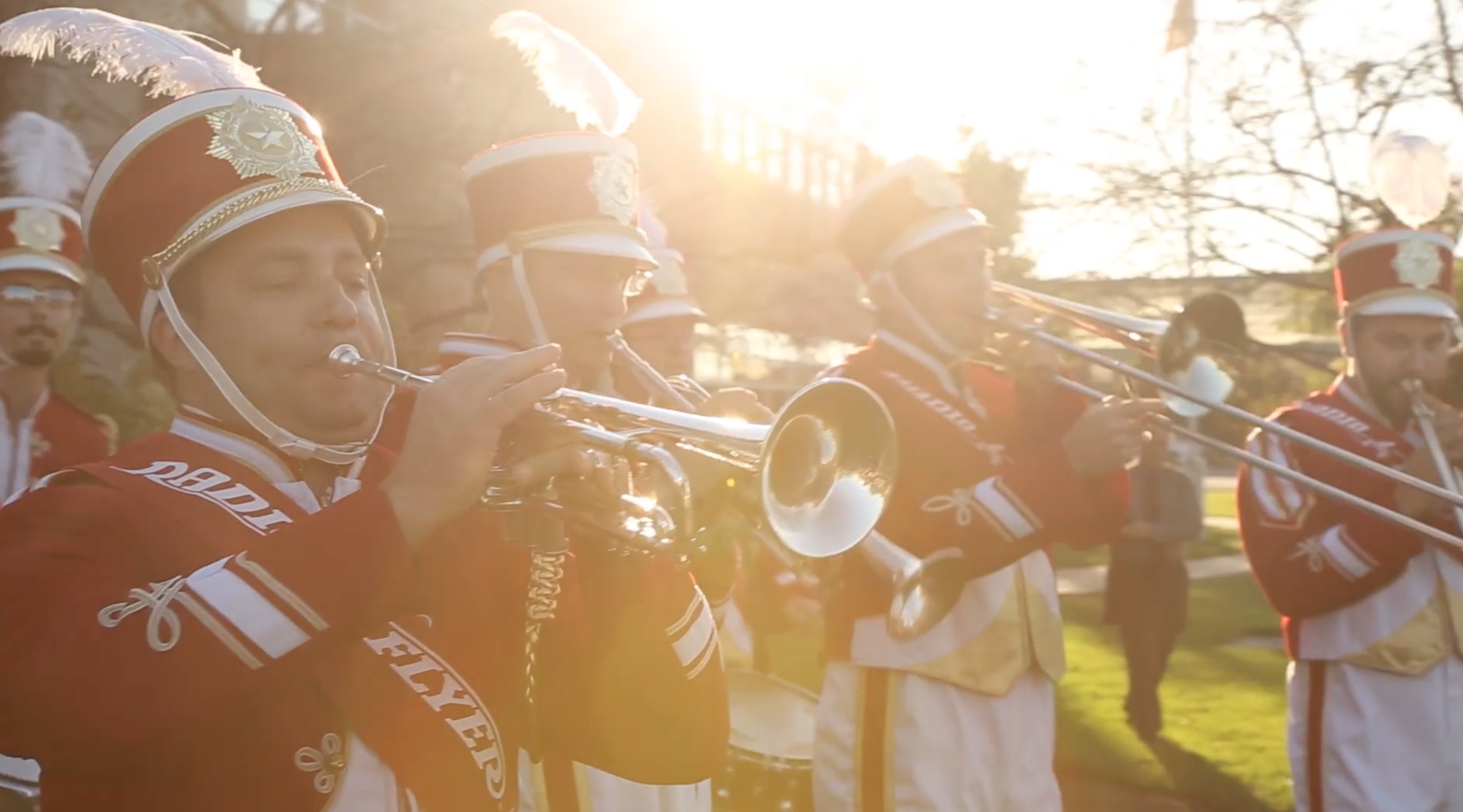 Film Still; Radio Flyer Marching Band
