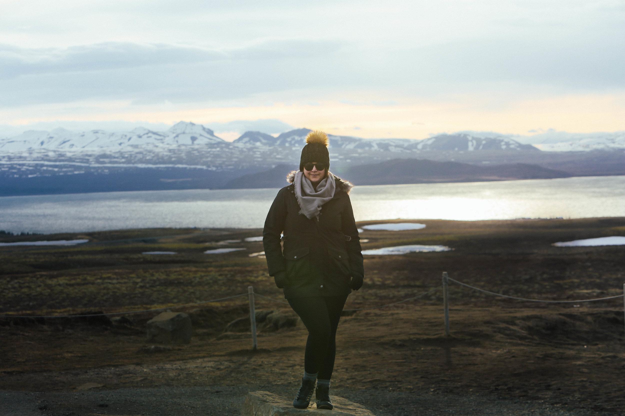 Photographer Melissa Fox on location in Iceland.