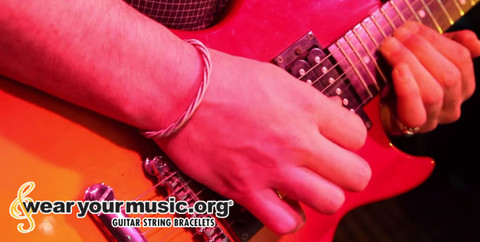 skedline guitar string bracelet whosestringsareyouwearing wearyourmusic whose strings are you wearing wear your music guitar music gifts rock star music bracelet