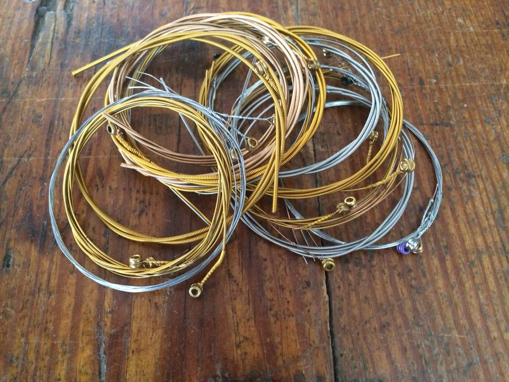 Look at Tim McGraw's guitar string bracelets that go to the  Tug McGraw  Foundation!