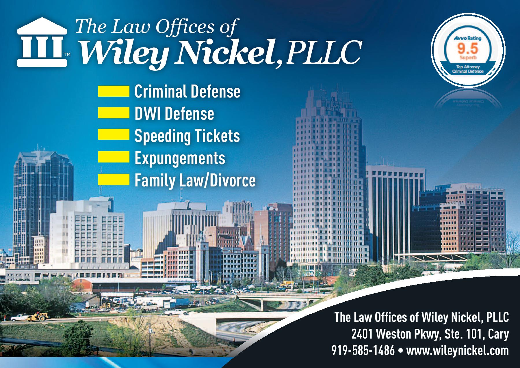 Law Offices of Wiley Nickel Postcard