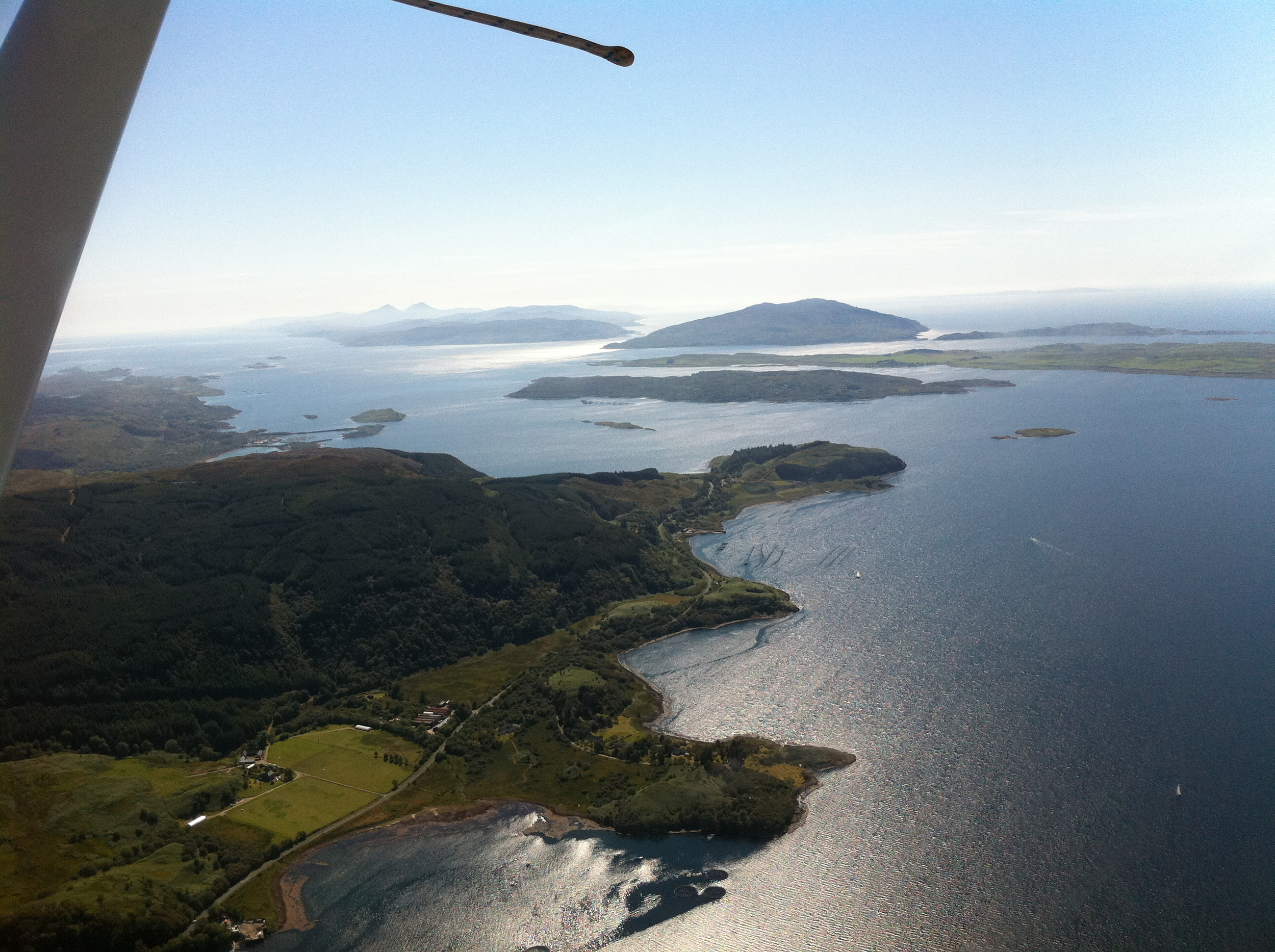 North of Jura looking South