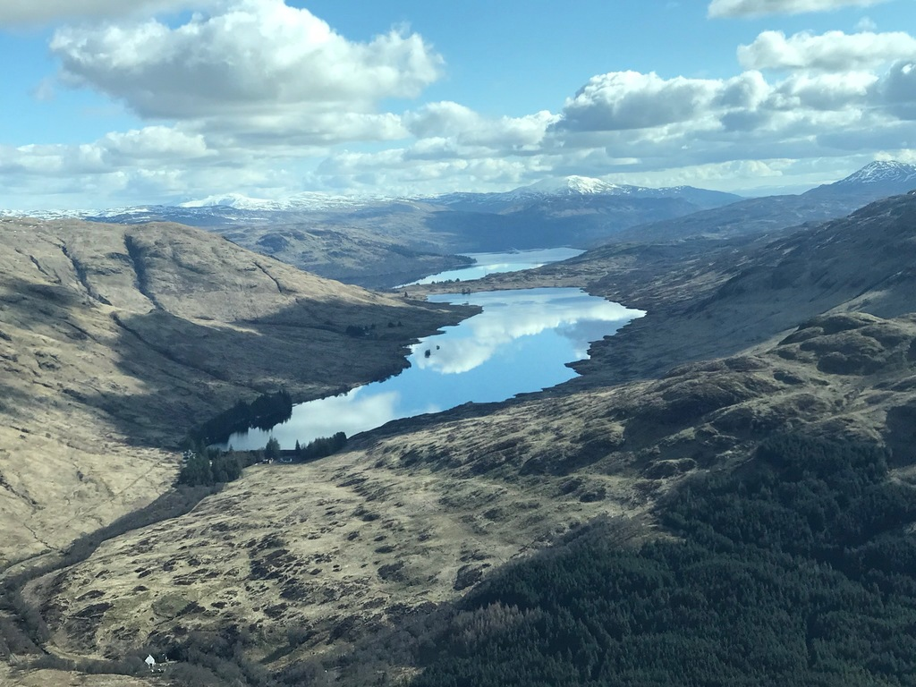The Trossachs - Loch Arklet and Loch Katrine