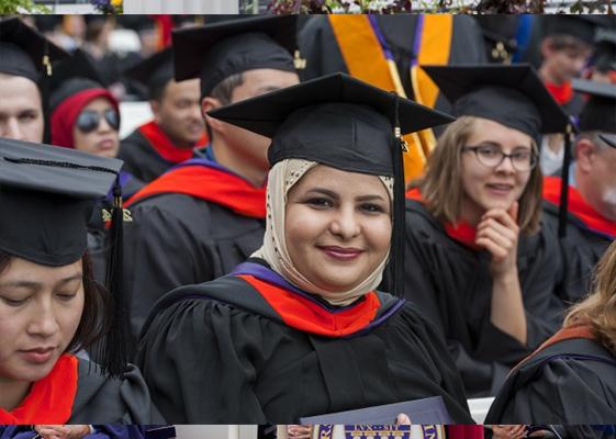 سعوديين بجامعة واشنطن حفل تخرج جامعة وشنطن
