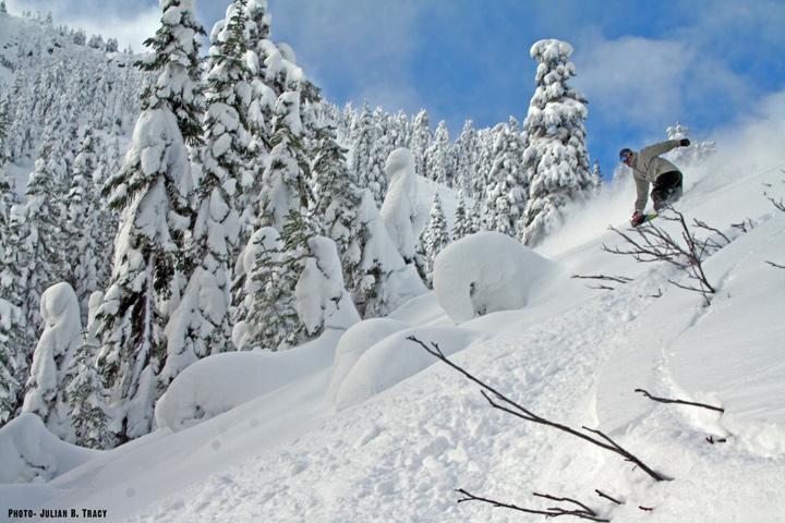 Steven Pass mountain