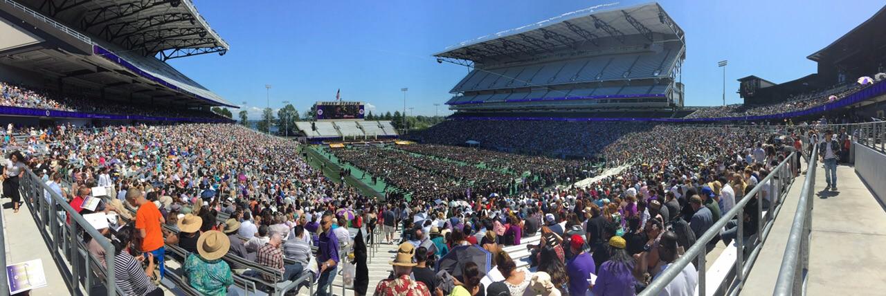University of Washington commencement 2015| حفل تخرج جامعة واشنطن بسياتل- الولايات المتحدة لعام ٢٠١٥