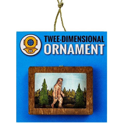 Sasquatch Ornament or Magnet