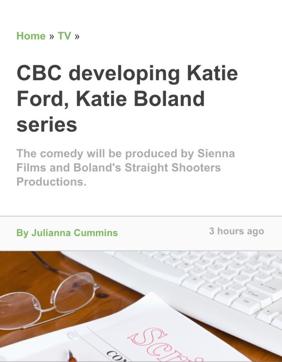 Playback Online announcing Gold Lame's development with CBC as well as discussing Centrepunch at the CBC.