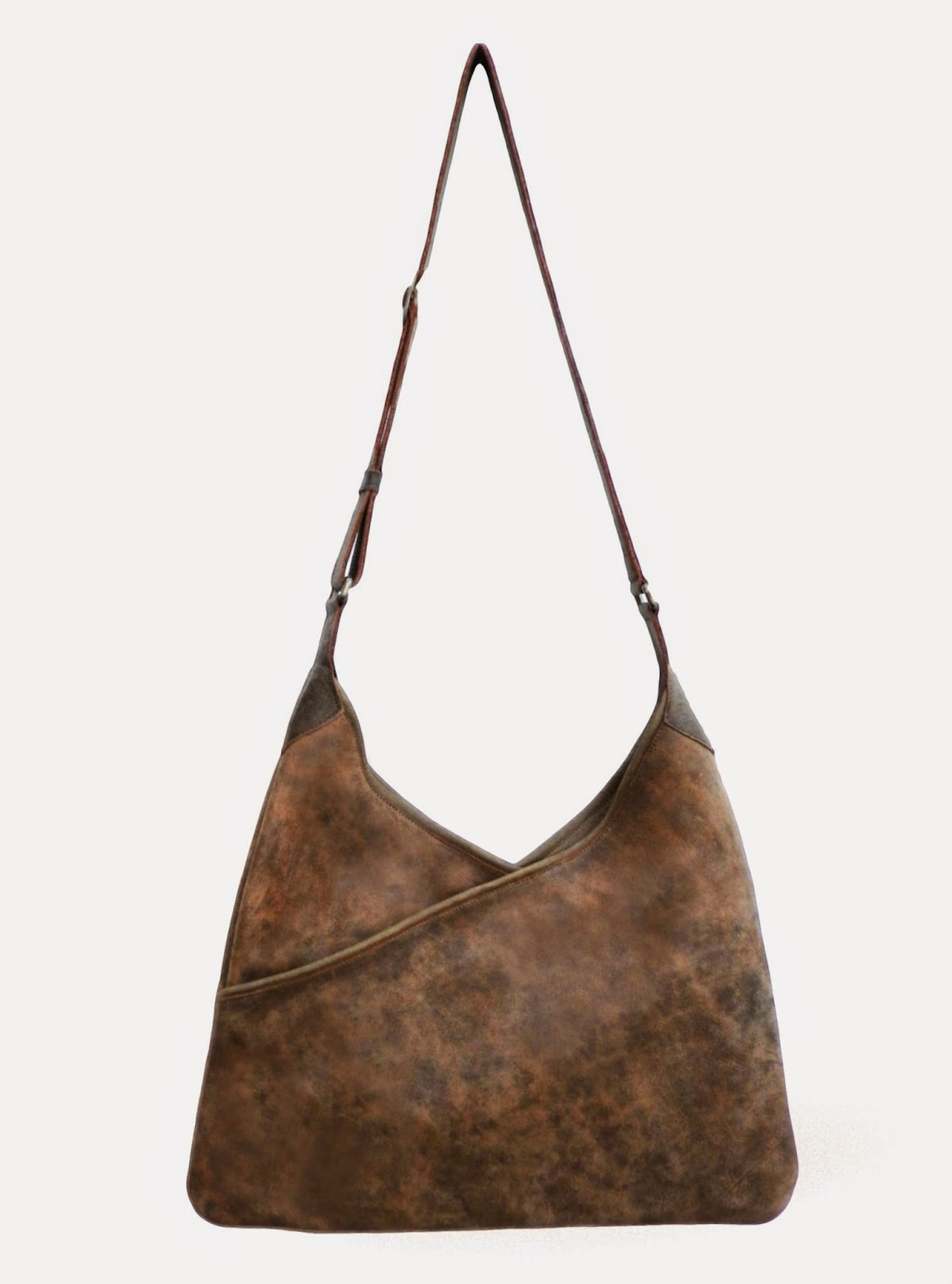 Lily and Lola 'Lisa' Burnt Brown Leather