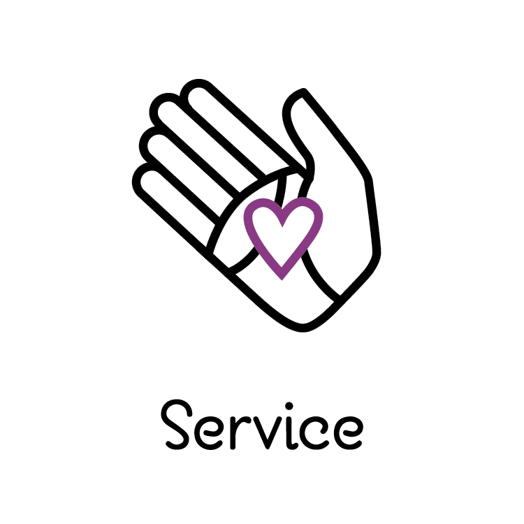 #Service #Icon The Road Fellows | The Road Episcopal Service Corps Atlanta | Design: GreenGate-Marketing.com