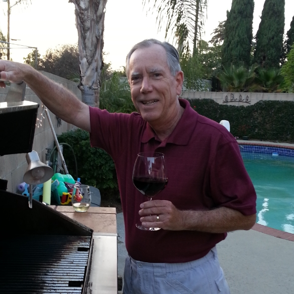 Jim at the Grill
