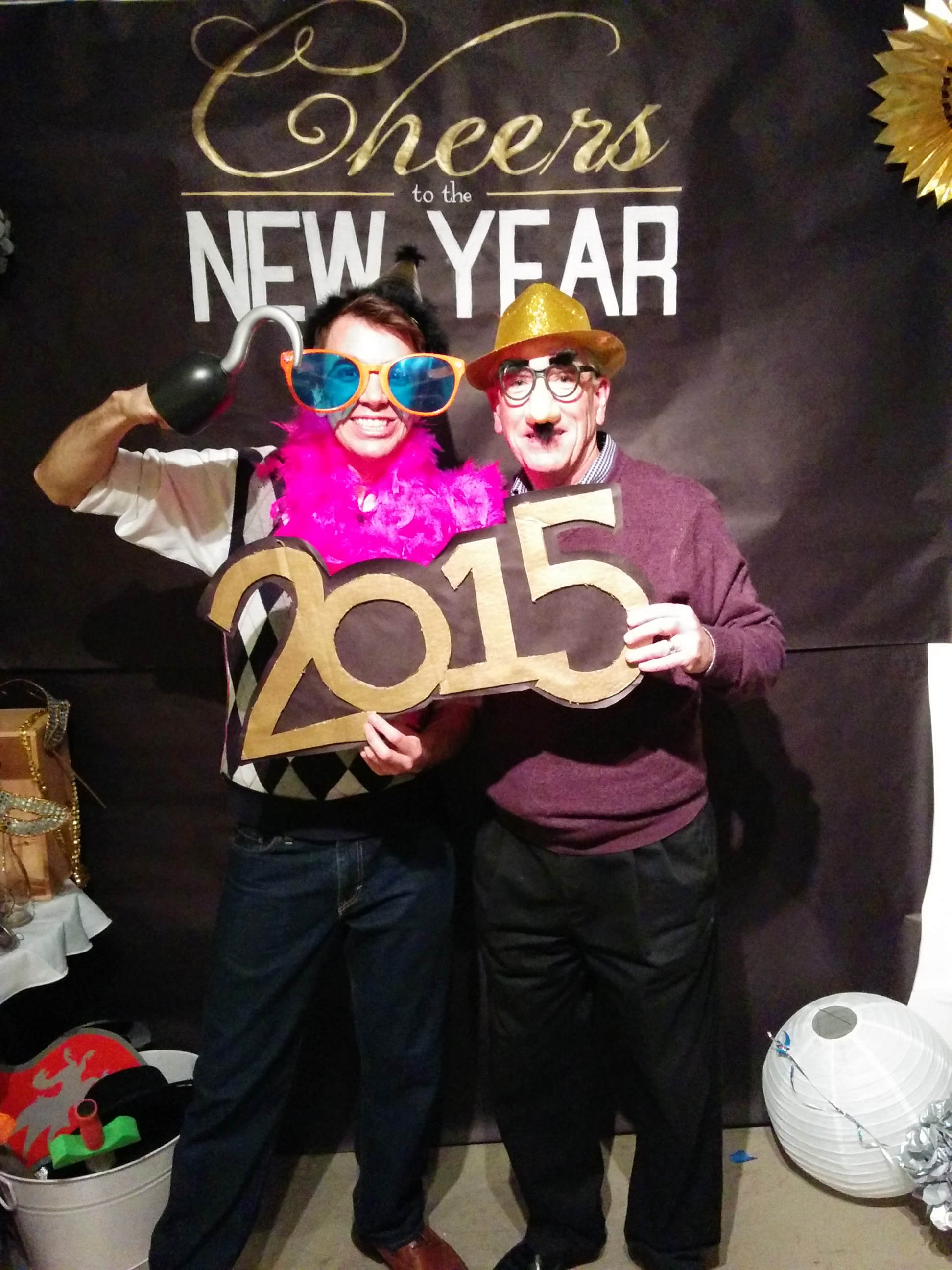 Who wouldn't want to ring in the New Year with Matt & Jim?