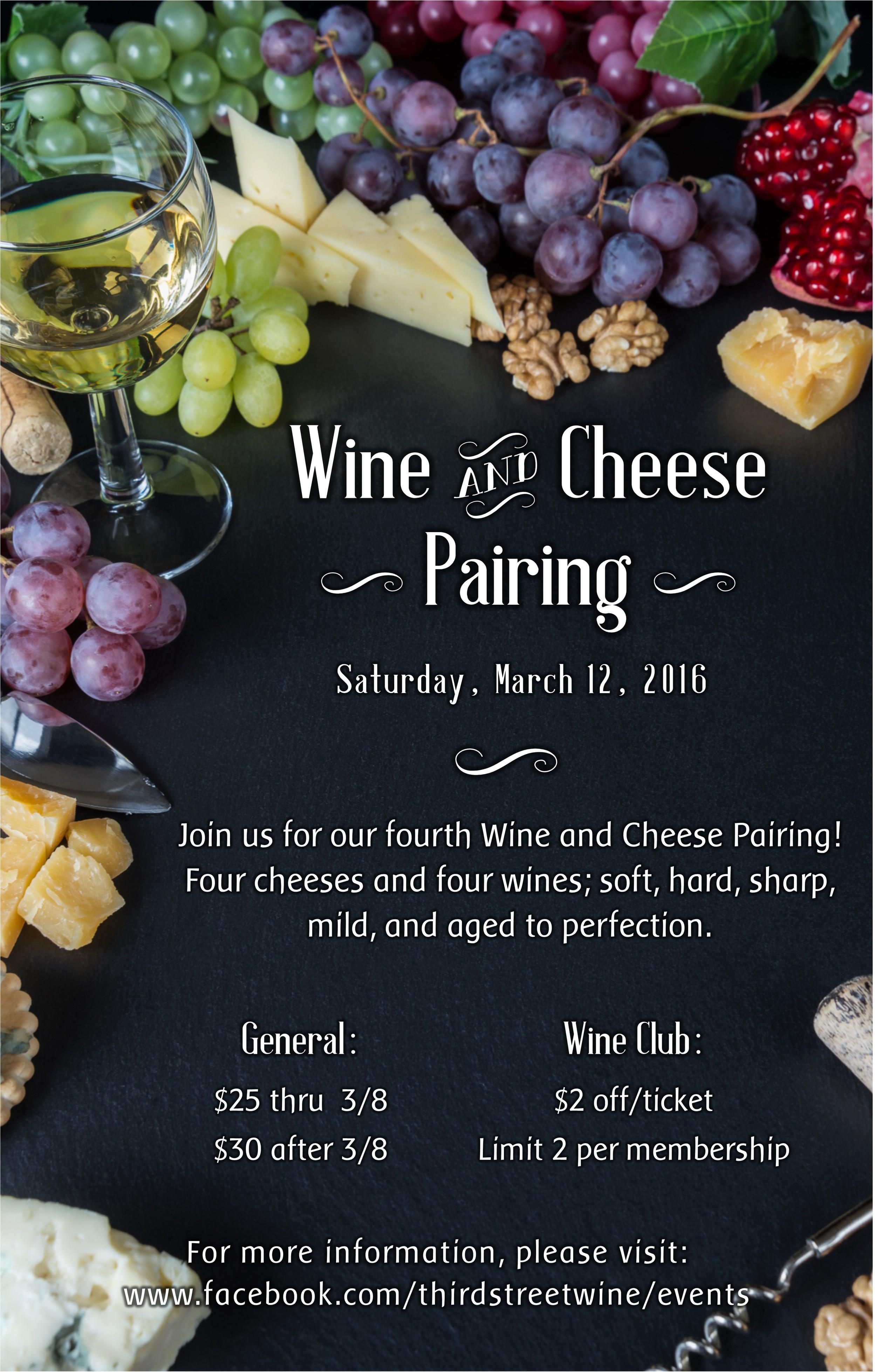 Cheese Pairing Poster