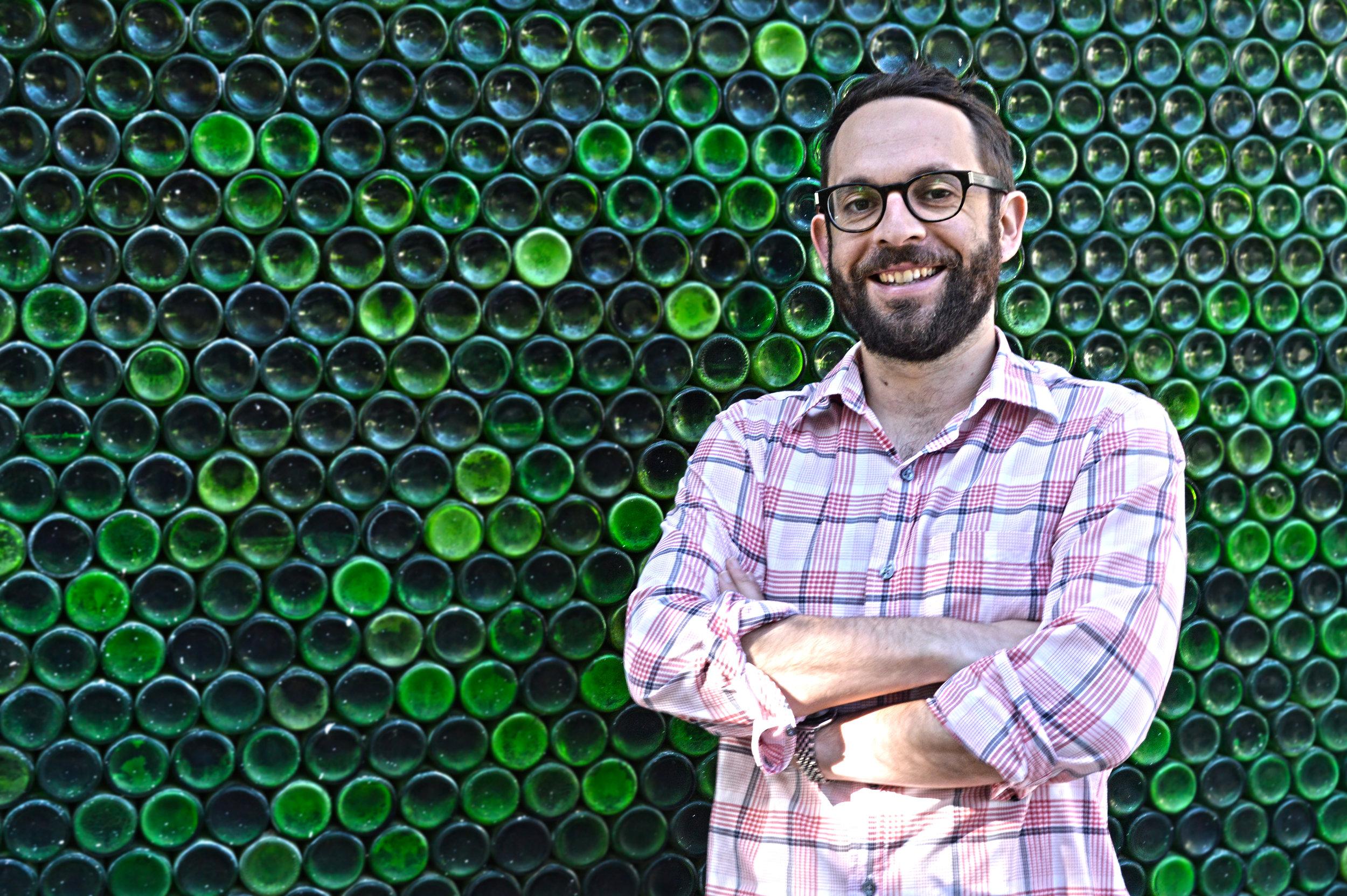 Simon Back, current winemaker of Backsberg Cellars.