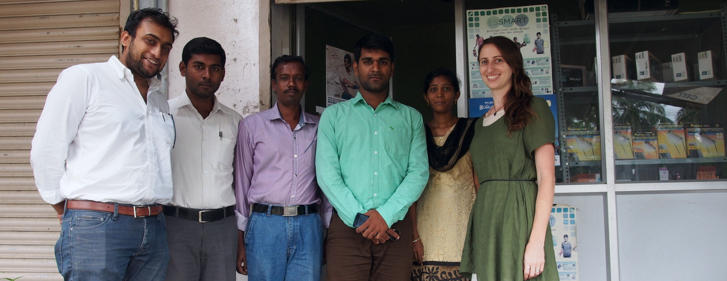 Members of the Essmart Team at the Krishnagiri Distribution Center