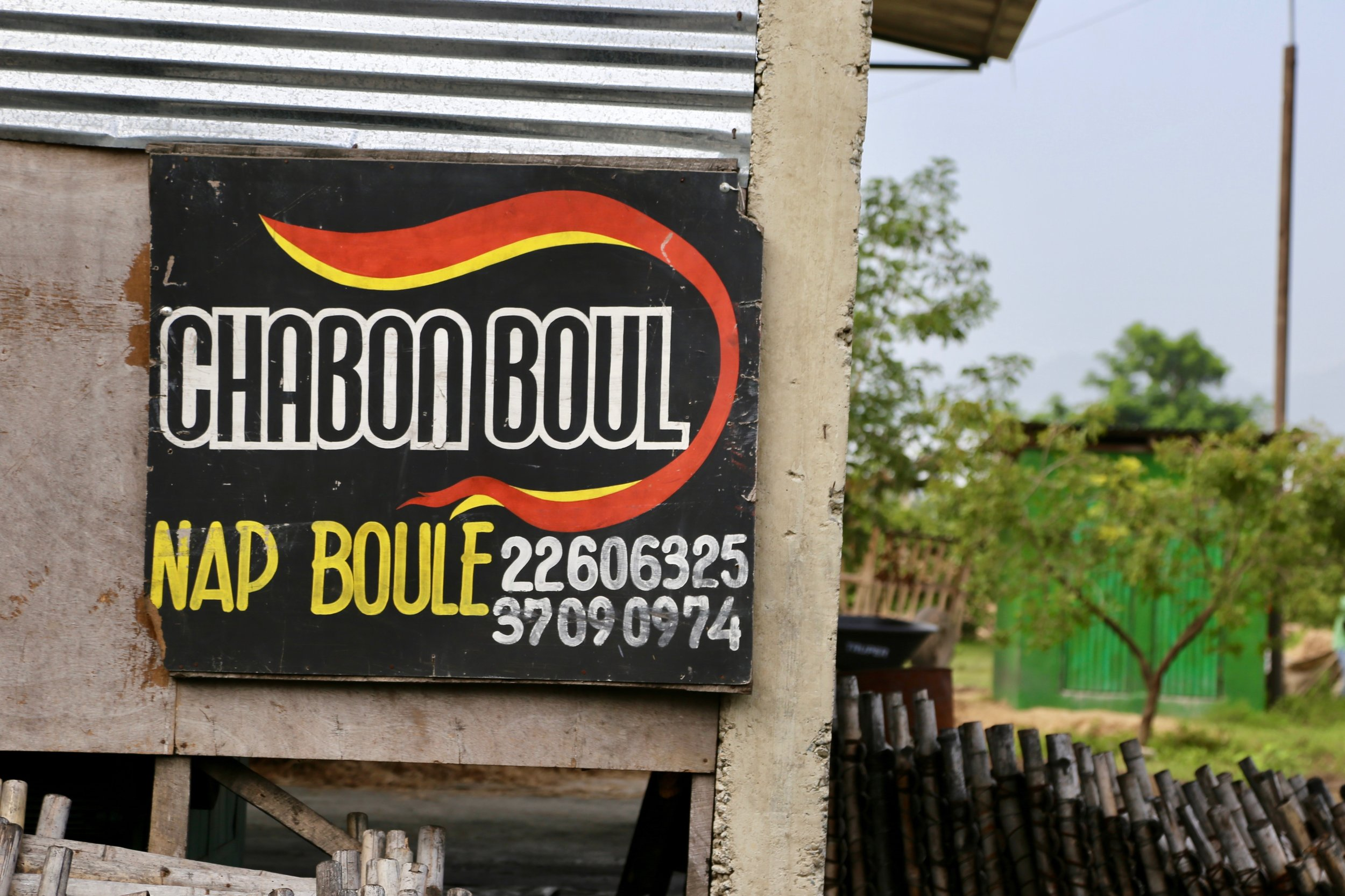 Chabon Boul: Haitian branded green charcoal