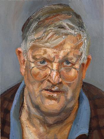 Portrait of David Hockney , 2003