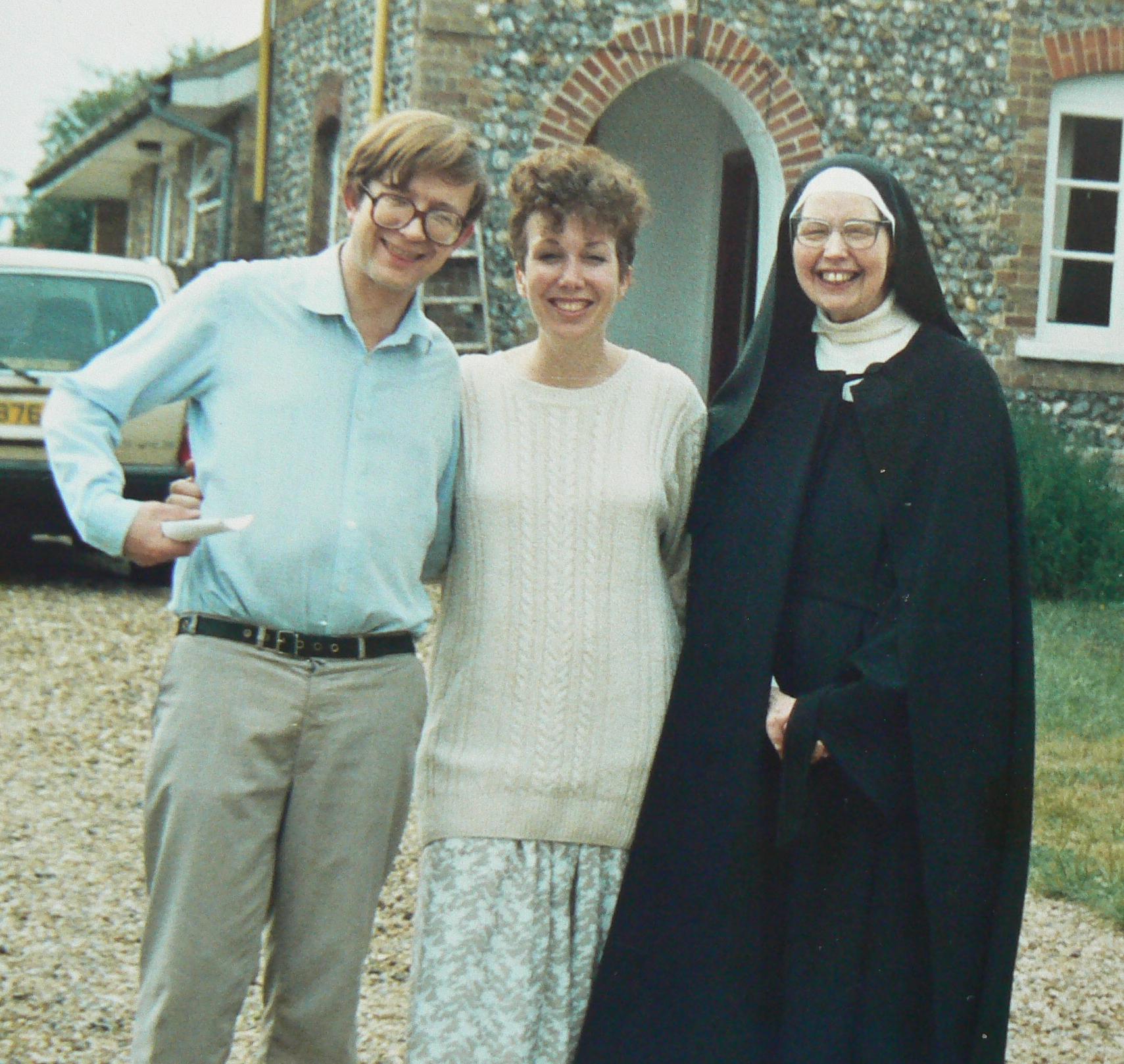 Peter Fuller, Stephanie Burns, Sister Wendy Beckett