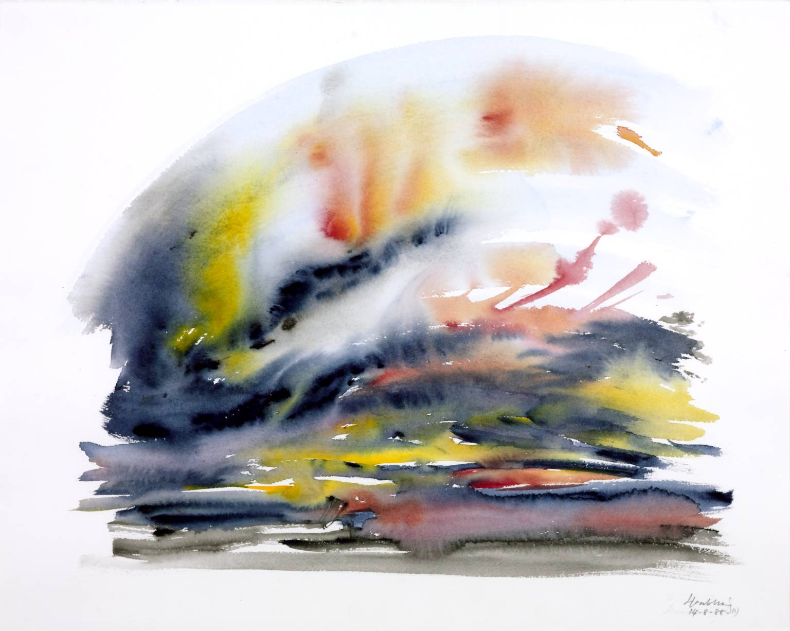 Sunrise, Maggi Hambling 1990
