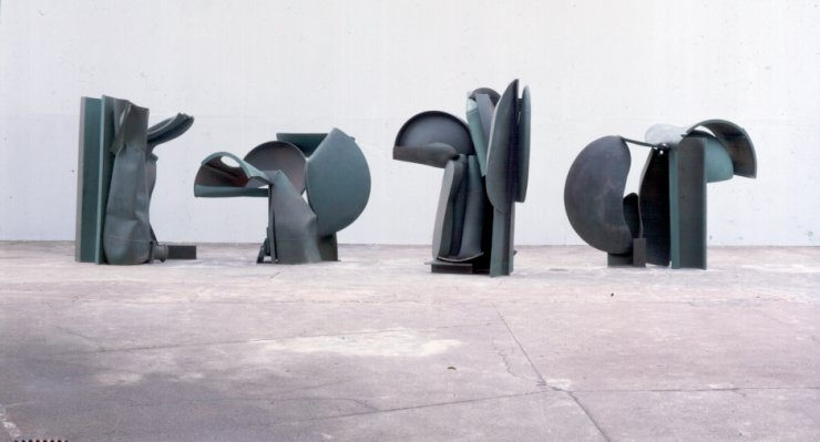 Night Movements 1897/1990 by Anthony Caro