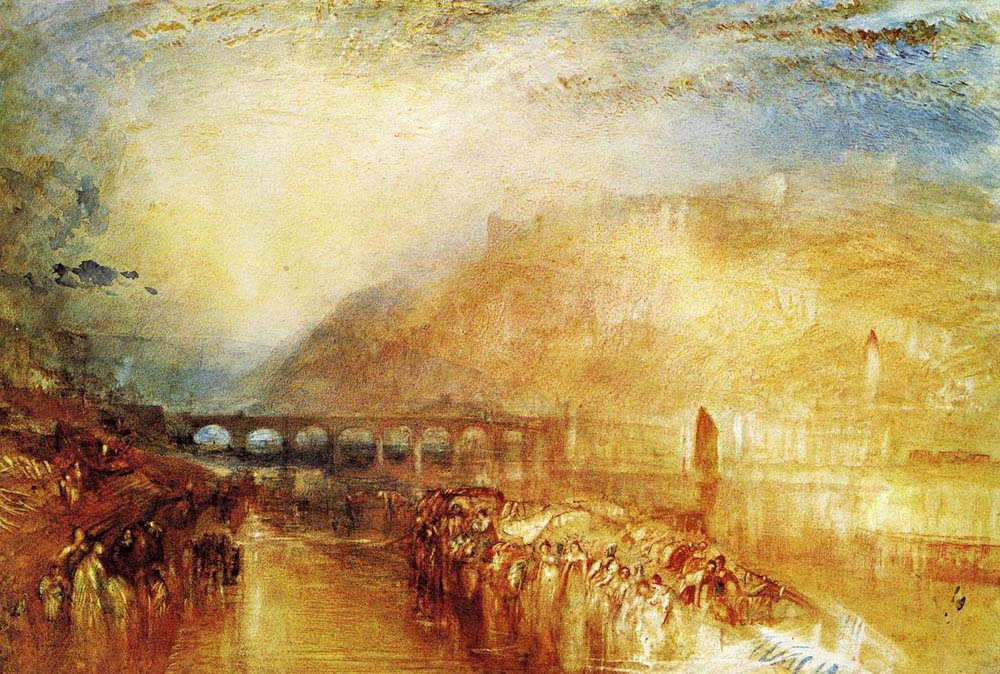 Glucose and Scylla from Ovids Metamorphoses,  JMW Turner 1841