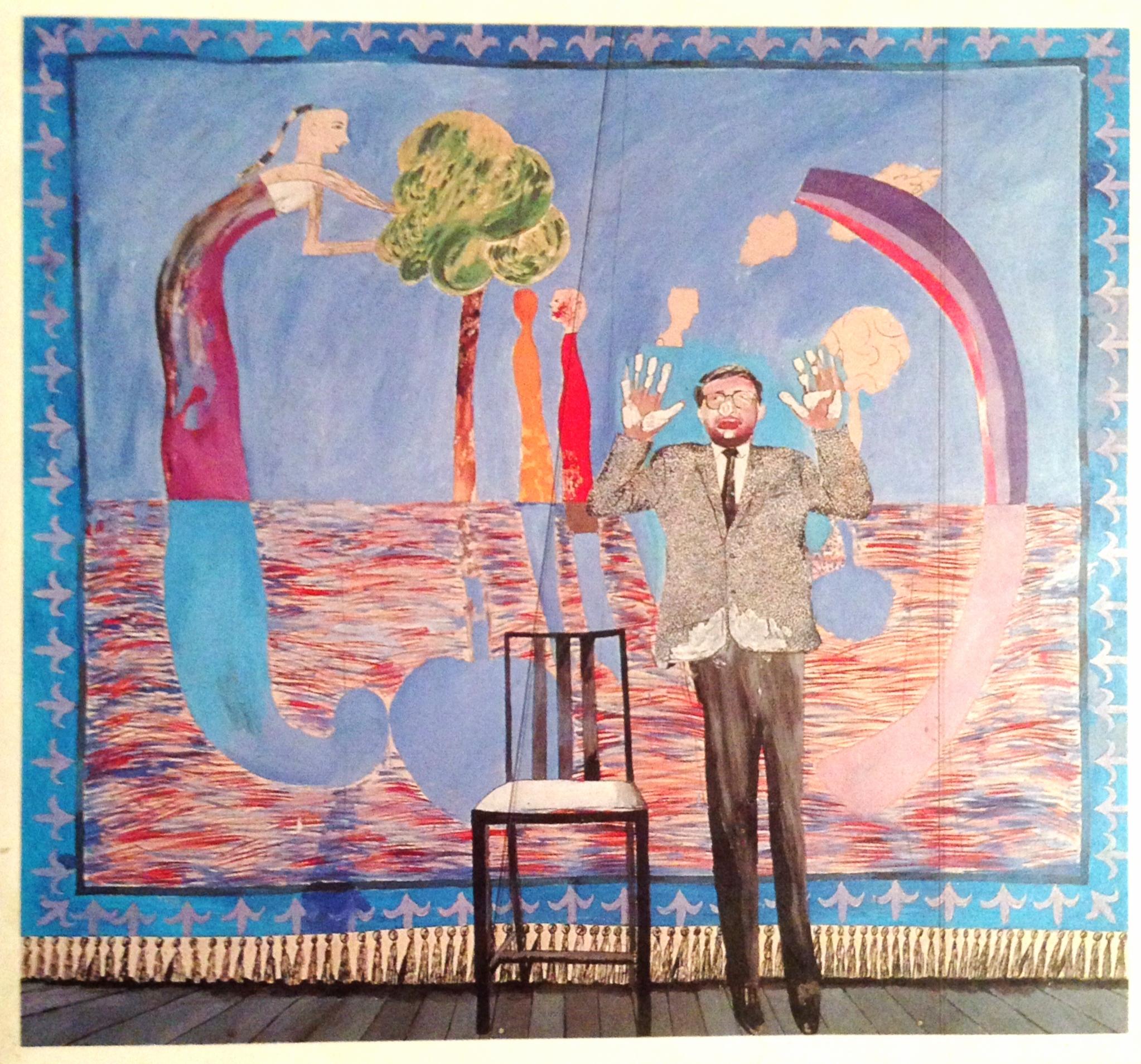 Play Within A Play , David Hockney, 1963