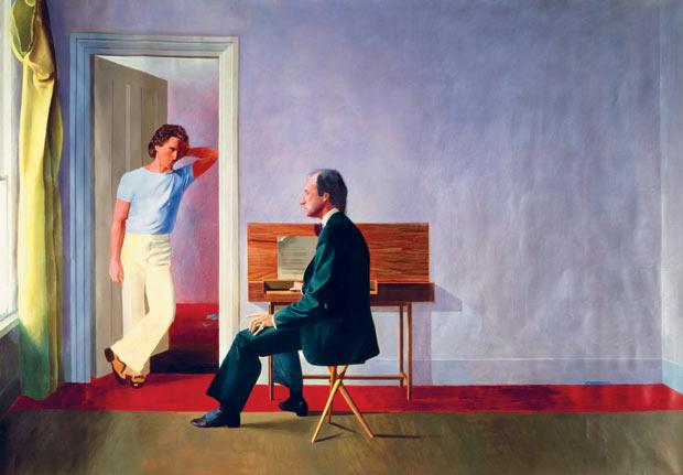 George Lawson and Wayne Sleep,  David Hockney 1972-75