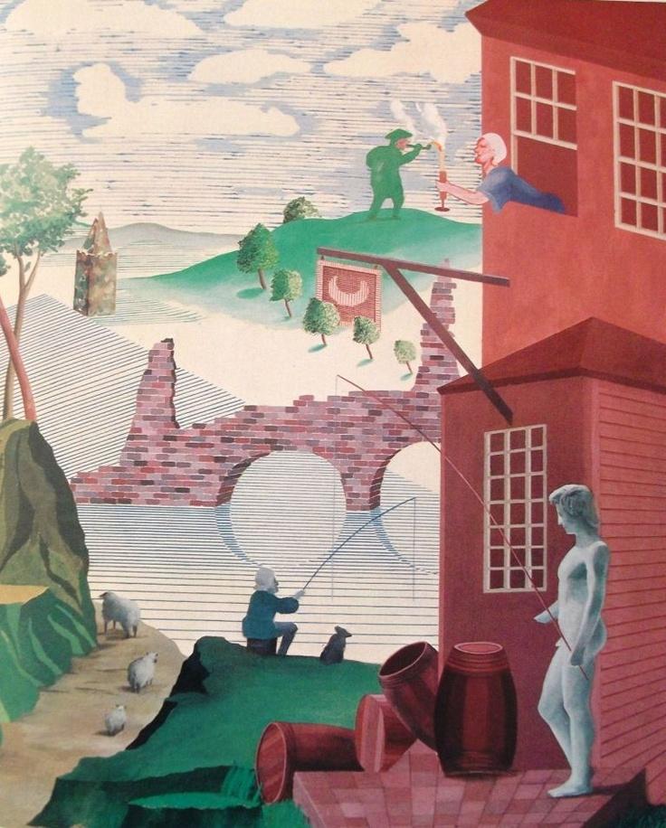 Kerby,  David Hockney, 1975 (inspired by William Hogarth)