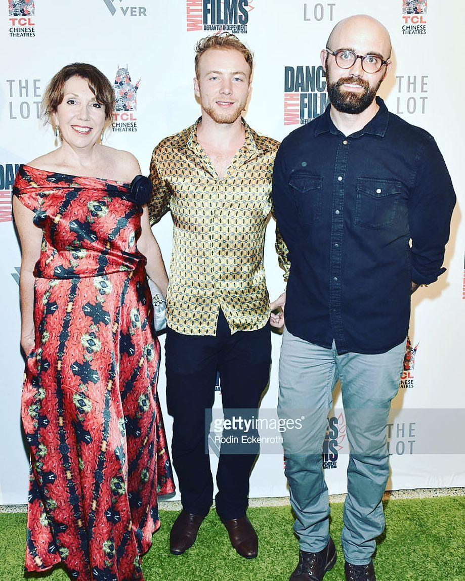 My mother Stephanie Burns (Left), Me, DP Tim Davis (Right) at the opening Gala of DWF