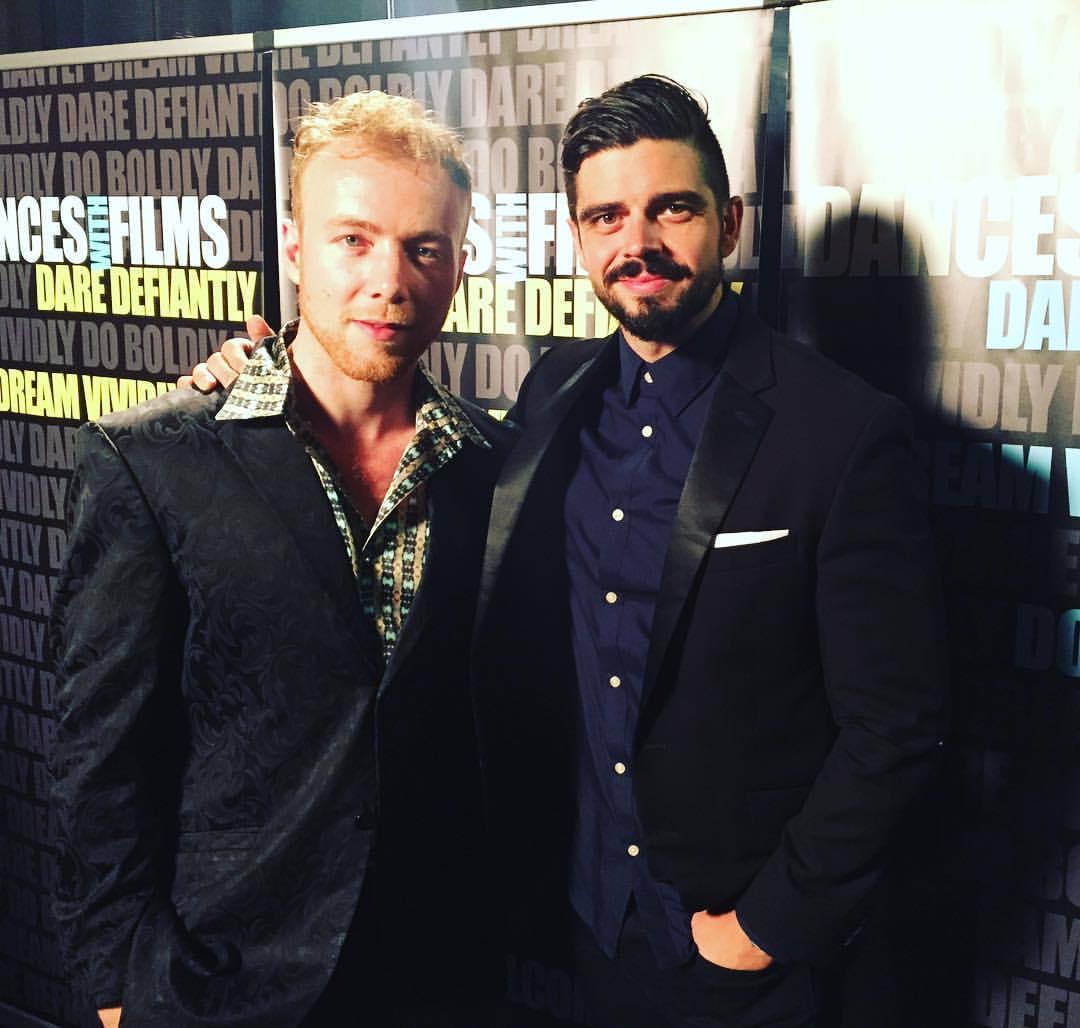 Me & co-star Micah Parker at the closing night Gala of DWF