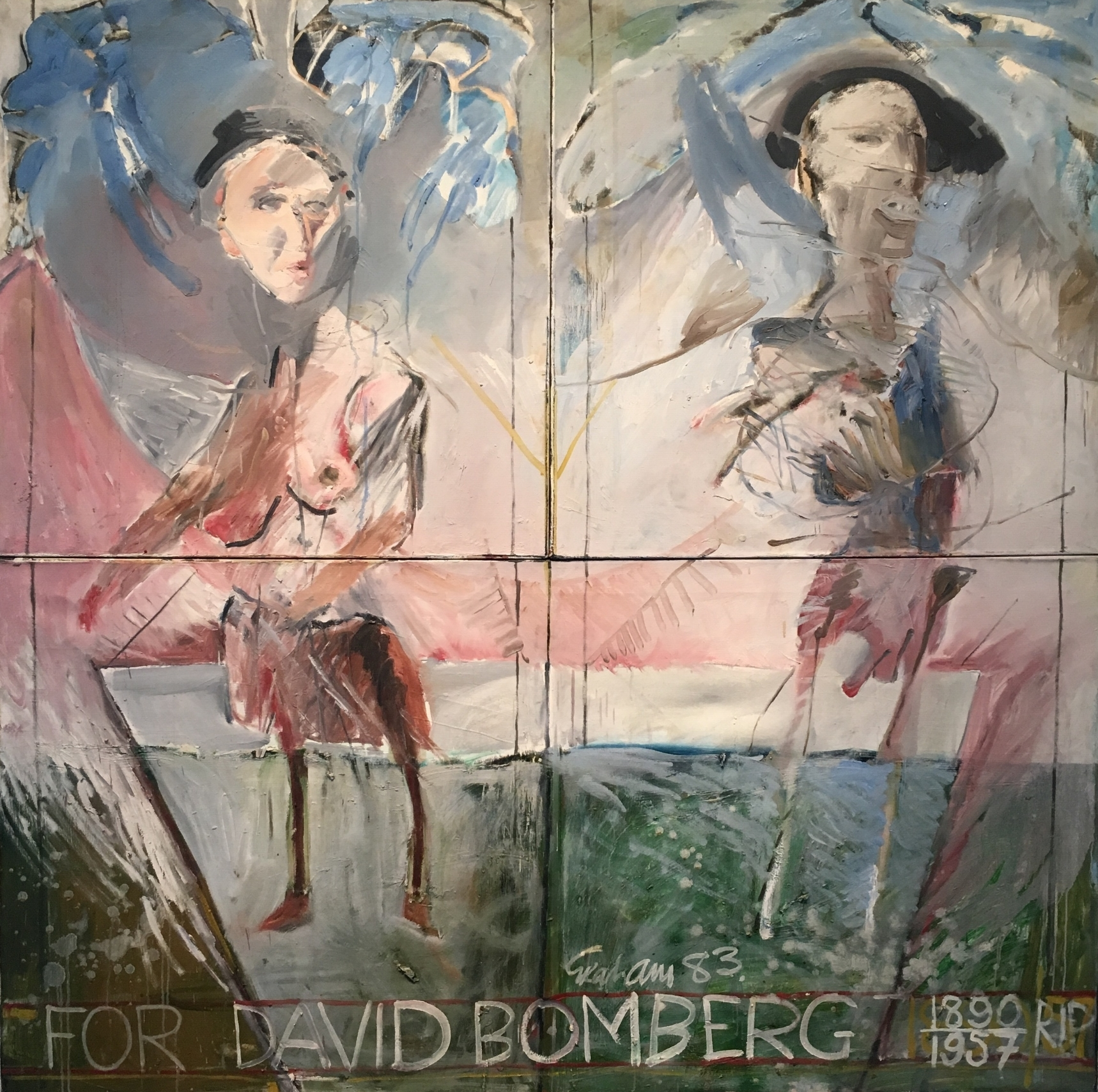 For David Bomberg  by Patrick Graham