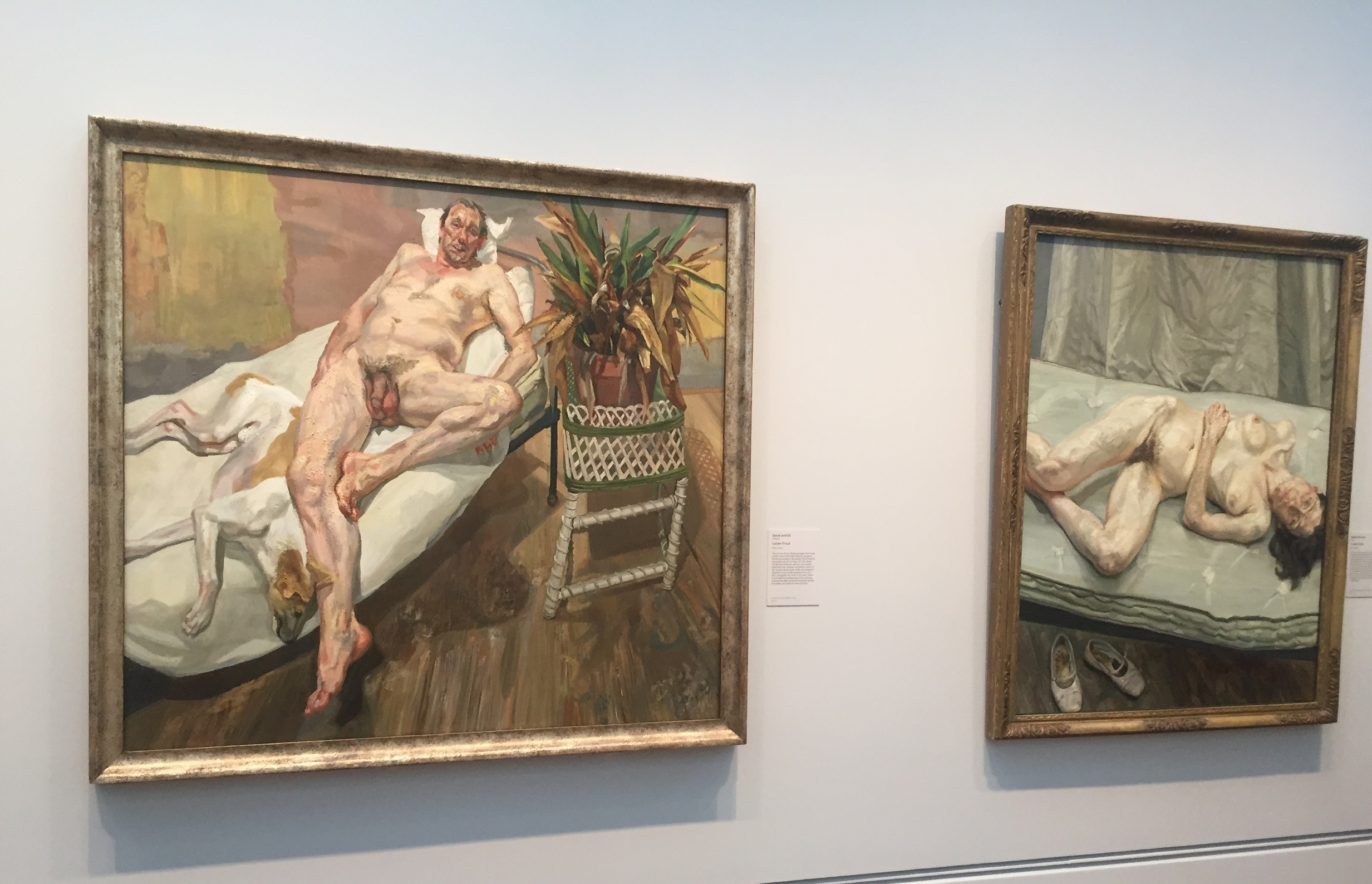 Paintings by Lucian Freud