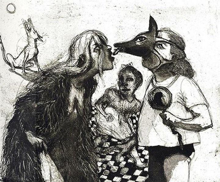 Lot's Wife from La Petite Mort by Marcelle Hanselaar